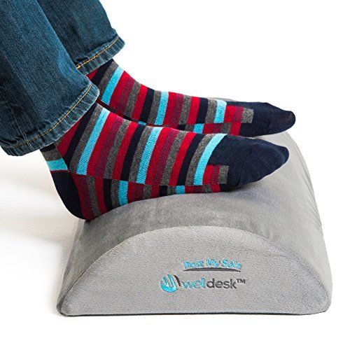 Well Desk – Ergonomic Rest My Sole Foot Rest Cushion