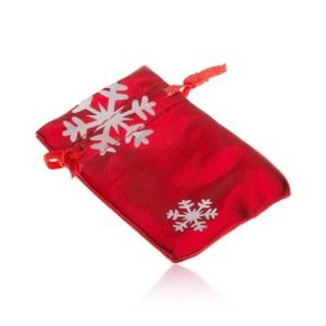 Darčekové vrecúško červenej farby