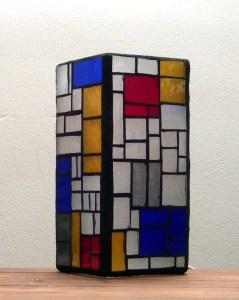 Mondrian lamp