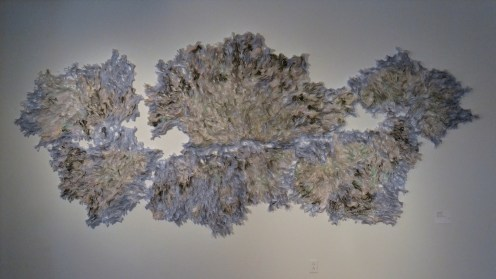 """More amazingness at the Society for Contemporary Craft - Julie Abijanac's """"Disease mapping"""""""