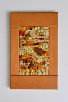 harvest mosaic - smalti beach glass