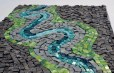 """River bend"" mosaic (angle shot) by Julie Sperling"