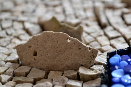 """Punctuated Equilibrium II"" - favourite stone (Julie Sperling, 2014)"