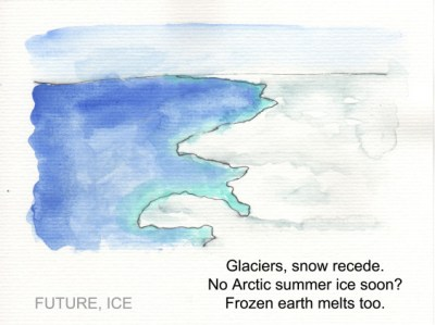 One of Gregory C. Johnson's 19 brilliantly simple illustrated haikus from the IPCC Physical Science Assessment