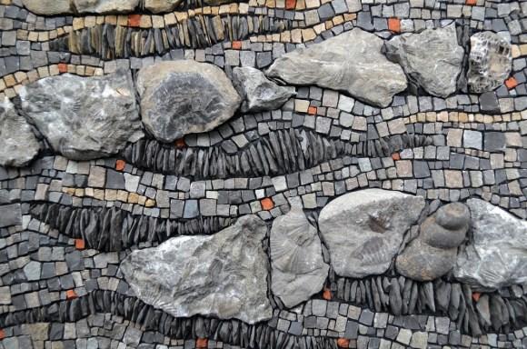 fossils in mosaic, Julie Sperling