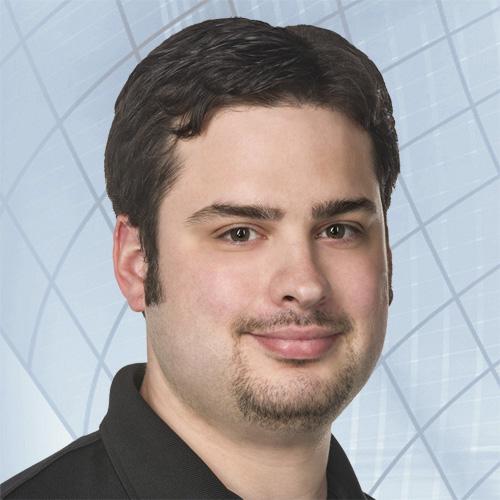 Speros IT Technician Chris Waters