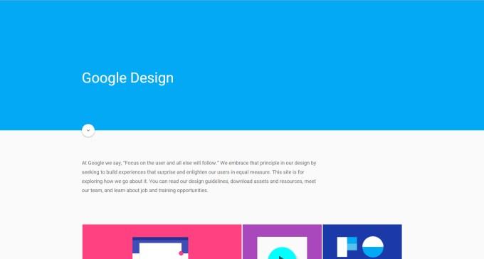 Speros Web Design Trends: Material Design