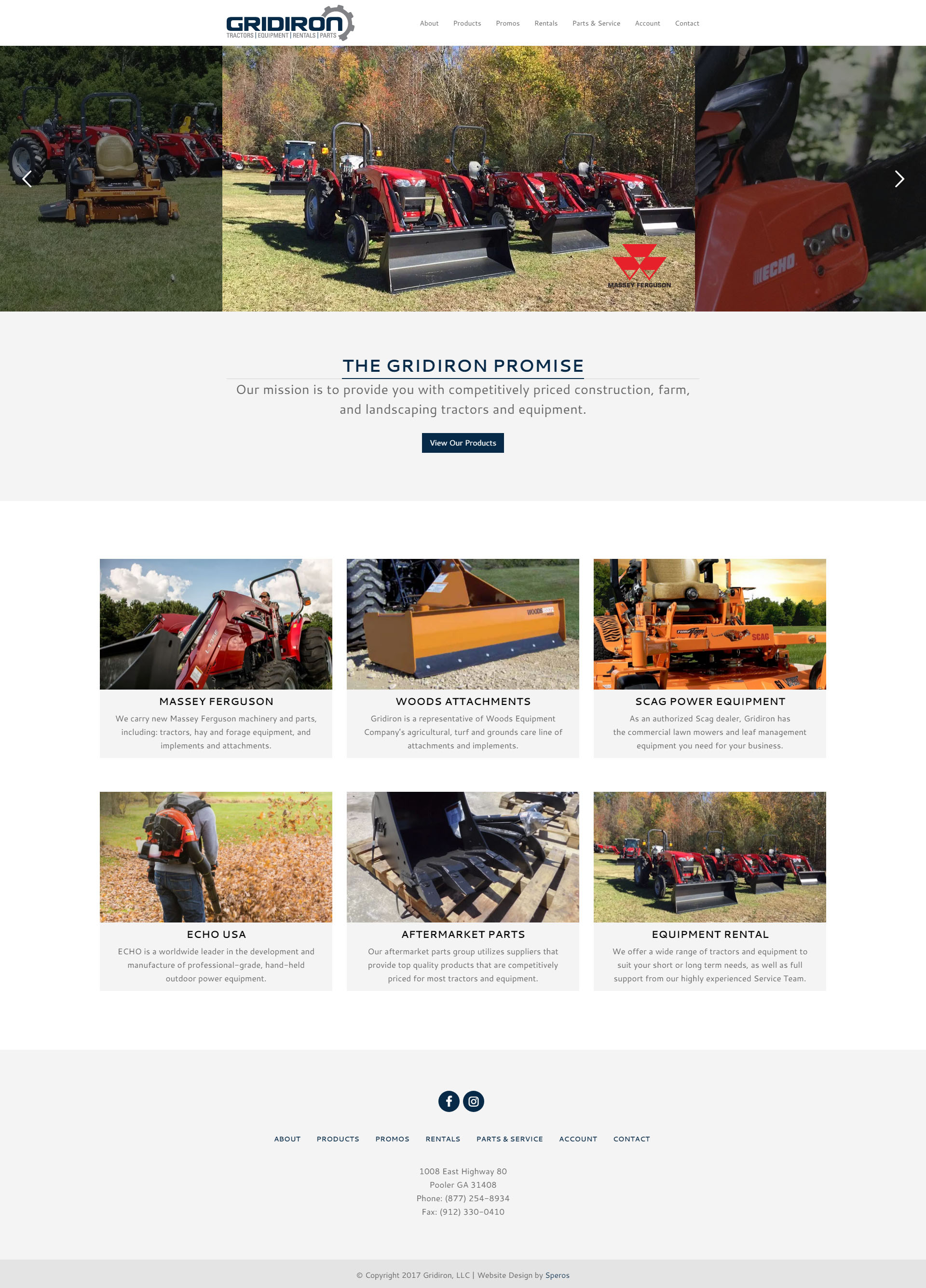 Gridiron Website