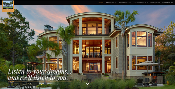 Camens Architectural Group Launches Redesigned Website Created By Speros