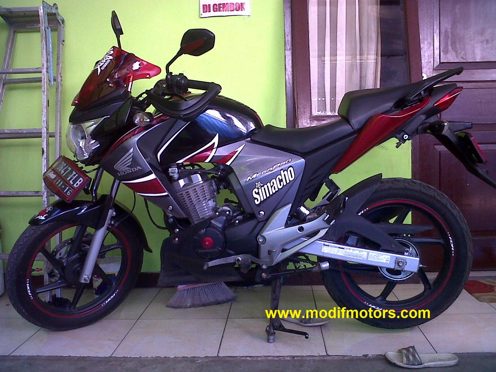 Kumpulan Modifikasi Motor Honda Mega Pro 2005 Terbaru Dan