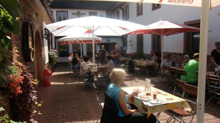 Innenhof Klosterschänke