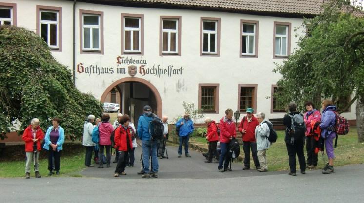 20190908 - Hafenlohrtal - Schlussrast