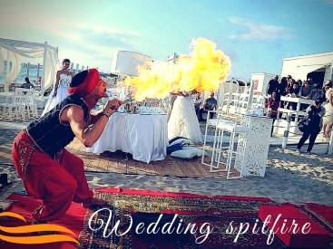 Wedding spitfire