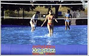 Campo da Beach Volley in Acqua