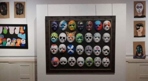 Masks at Iona Gallery Kingussi