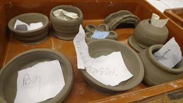 More Finished pots