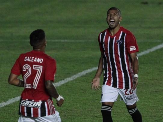 Rojas marca e São Paulo goleia Inter de Limeira