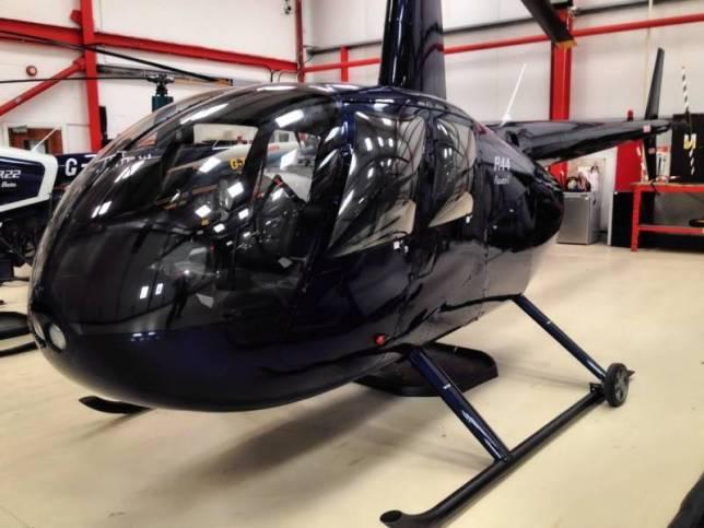 ремонт вертолета 1