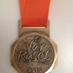 Medalj för deltagande i Vårruset 2016