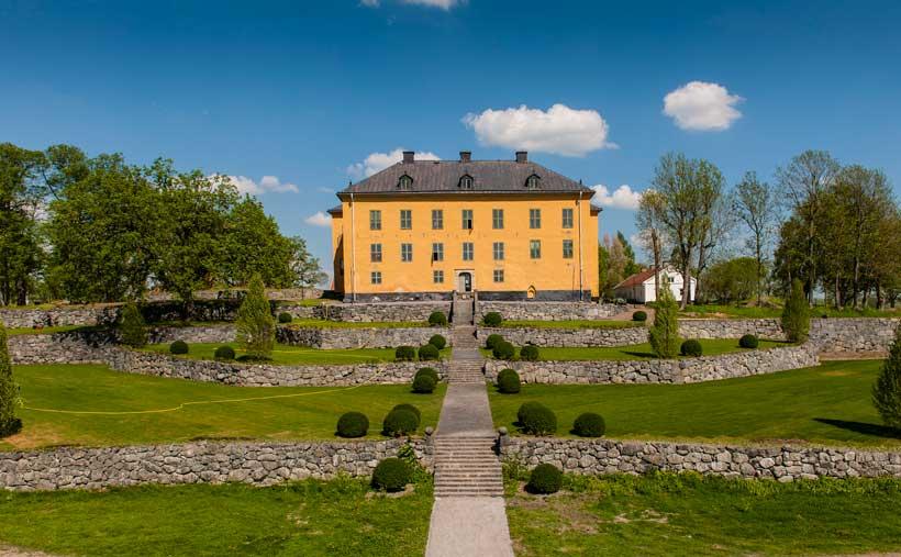 """""""Hemliga resan"""" till Venngarns slott, ett ställe med anor"""