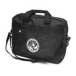 SPFPA store- Briefcase (soft sided) black
