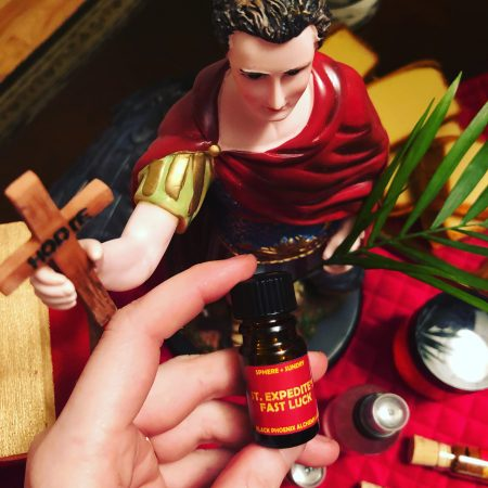 St. Expedite's Fast Luck Perfume Oil
