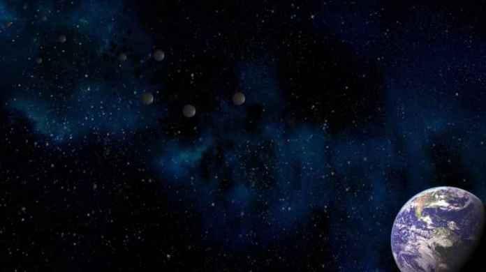 5 Metallic Spheres