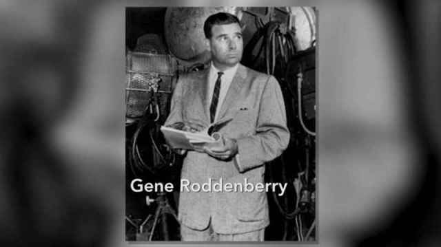 13 Gene Roddenberry