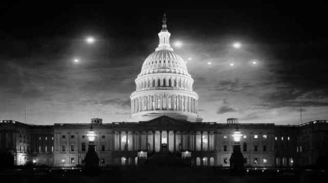 6 1952 UFO Washington DC Flyover