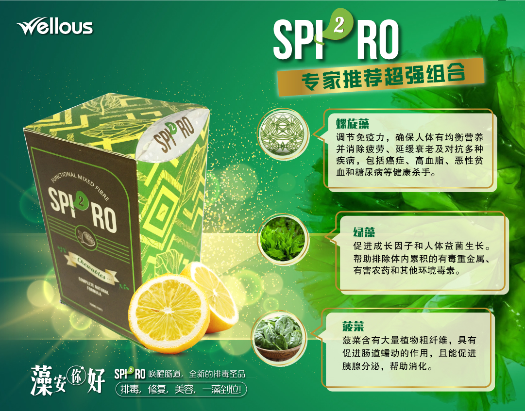SPI2RO 【雙藻排毒糖】 – SPI2RO 排毒藻