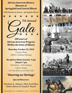 Gala, 2018 - 200 Years of African American Achievements @ Crowne Plaza | Springfield | Illinois | United States
