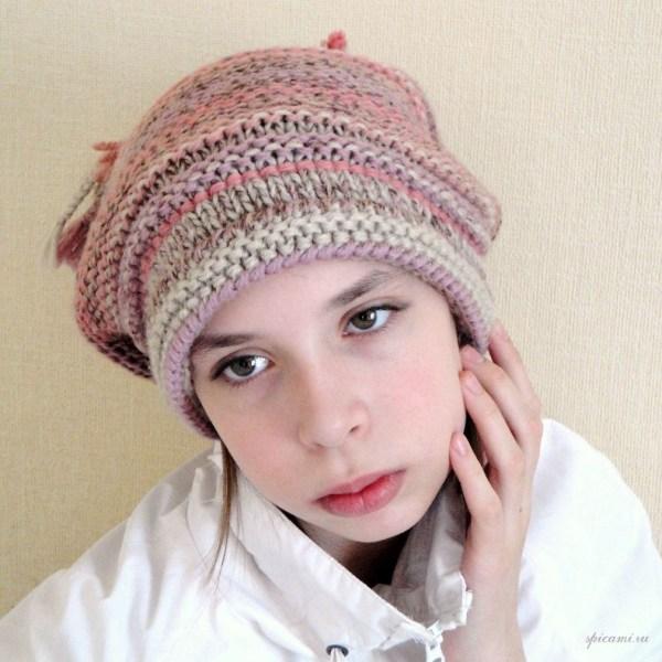 Вязаные шапки от Ольги, выбирайте! | Вязание спицами ...