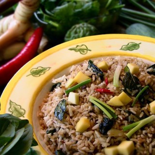 Thai-Style Olive Fried Rice