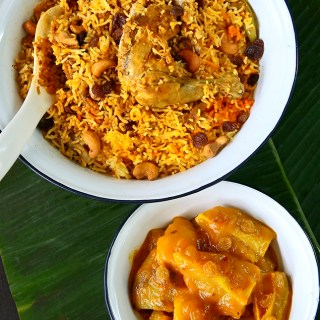 Chicken Dum Biryani and More………