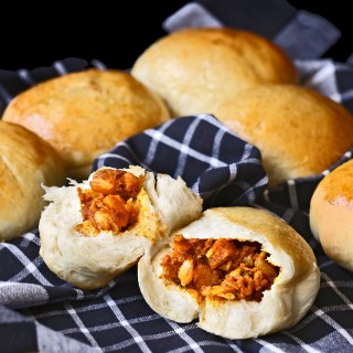 Chicken Curry Buns