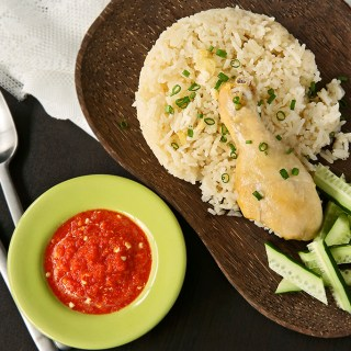 One-Pot Hainanese Chicken Rice