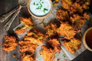 Red Lentil Fritters (Piyaju)