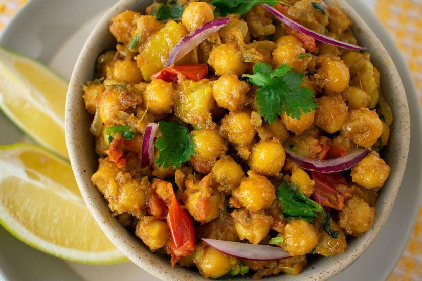 Chana Masala (garbanzo al curry)