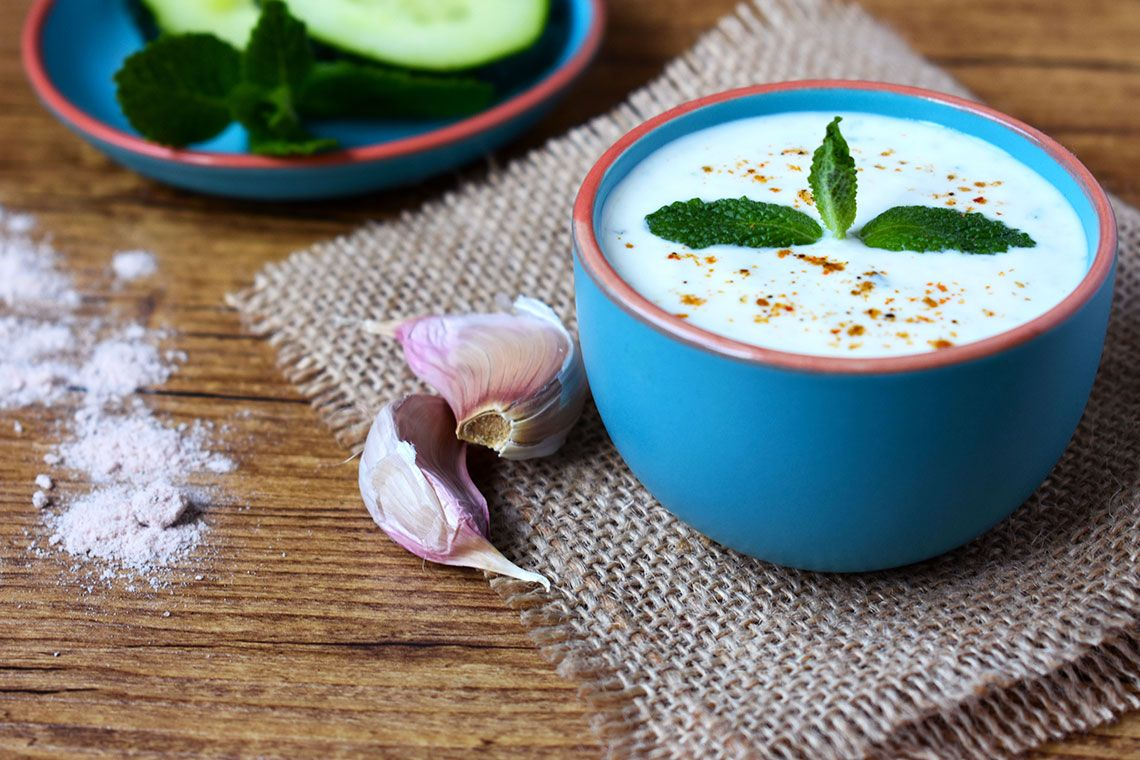 Raita (Yogurt Sauce)
