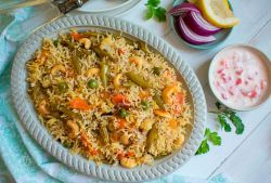Veg Pulao (Vegetable Pulao Recipe)