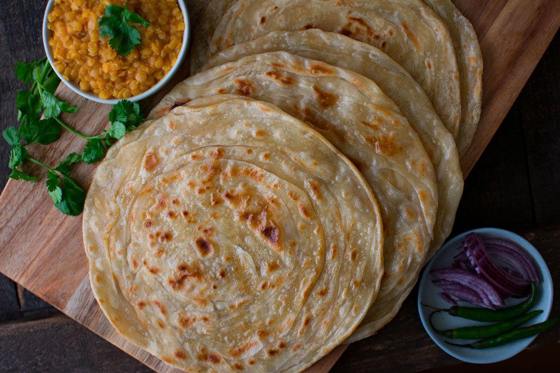 Paratha (Indian flatbread)