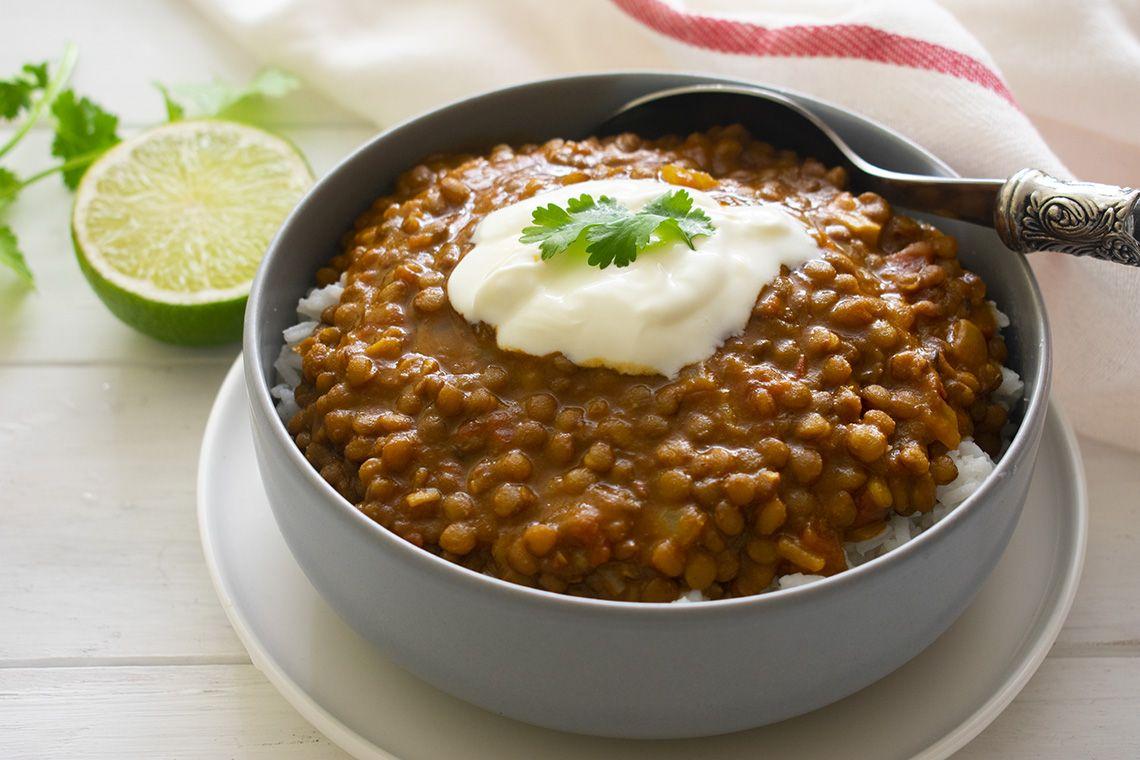 Creamy Lentil Curry