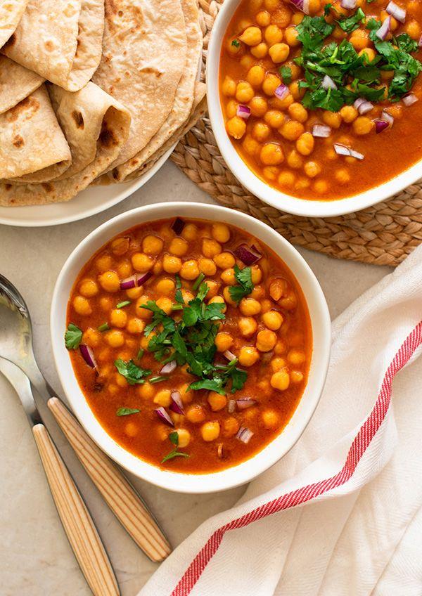 Chana Masala (Curry de Garbanzo)