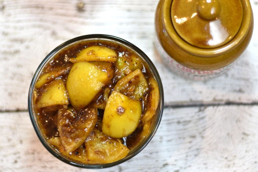 Sweet'n'Spicy Lemon Pickle