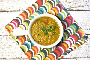 Toor Dal Tadka, Split Pigeon pea soup, lentil soup, Instant Pot Soup