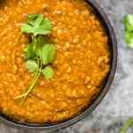 Ethiopian Red Lentil Stew- Misir Wot