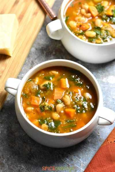 Gluten-Free recipe of Minestrone Soup made in Instant Pot