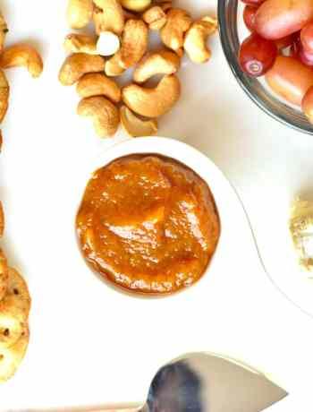 Peach ginger chutney instant pot pressure cooker