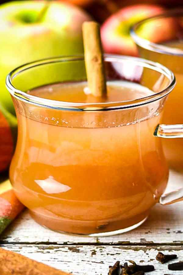 Instant Pot Spiced Apple Cider