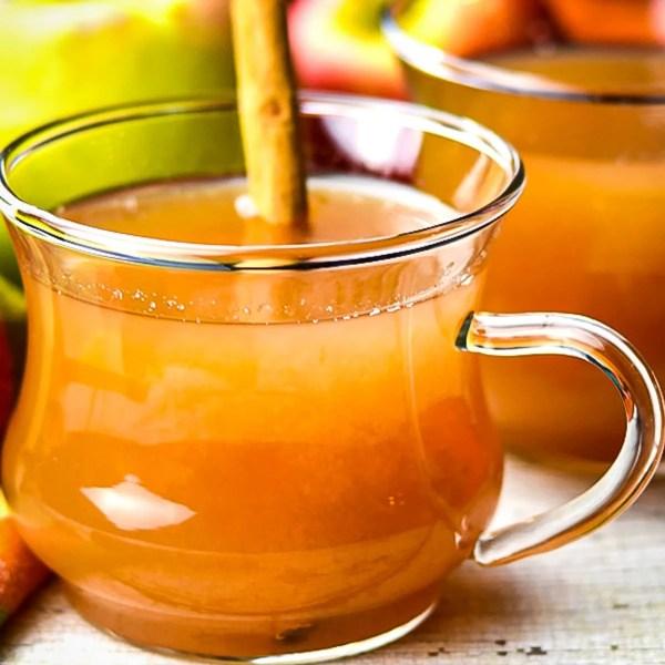 Instant Pot Spiced Apple Cider Recipe